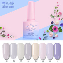 Light color nail polish nail polish nail varnish gel environmental protection can be removed barbie  Color please note