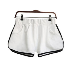 Factory direct sale of a substitute Korea running shorts women chunxia cotton yoga shorts 3002 white m