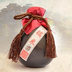 Guizhou glutinous rice wine rice wine wholesale pure grain wine black glutinous rice wine homemade r