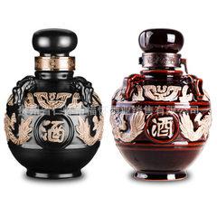 Maotai town miso - flavor liquor 53 degrees liquor pure kunsha liquor wholesale Black dragon altar