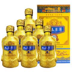 Jiangsu jiuwu zun liquor wholesale 52 - degree luzhou-flavor liquor whole box special price liquor w 500 ml