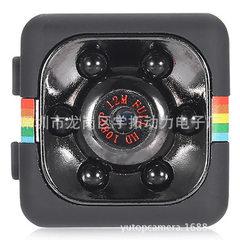 SQ11 高清1080P迷你运动DV 夜视摄像机mini 行车记录仪MINI 红色