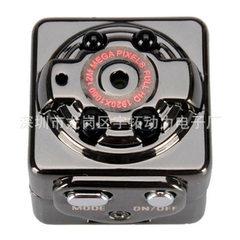 SQ8 高清1080P4夜视灯运动摄像机DV 迷你行车记录仪MINI DV 黑色