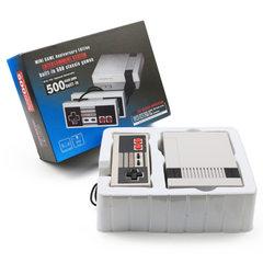 跨境电商一件代发任天堂fc迷你500游戏合一经典迷你NES电视游戏机 美规电源(国内标准一样)