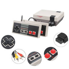 500 in one spot mini NES video game 8 - player FC game console retro red and white machine The power supply