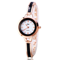 Manufacturers sell the Korean version of simple regal JW quartz watch lady hand chain watch new stud white