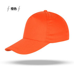 Thin cotton muslin card customized baseball cap work cap men and women advertising sun shade hats lo red The adjustable