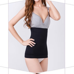 Summer abdomen belt post-partum slimming waist body clothes breathable waist reduction abdomen waist black All code