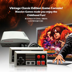 The NES game console SFC mini-console HDMI hd red and white machine has 600 games built-in The European
