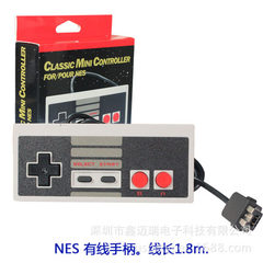 The NES mini NES Classic gamepad is compatible with the new nintendo red and white machine black