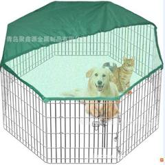 Eight side dog fence pet playground manufacturers direct export to Europe and the United States qual black A variety of