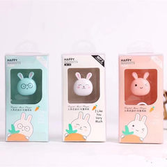 Cartoon cute rabbit inserted card MP3 fashion MP3 player cute model MP3 JM23 Memory CARDS need to be inserted