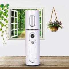 The new nanometer spray water replenishment instrument USB interface gradual change seven color lamp white 112 x28x28mm