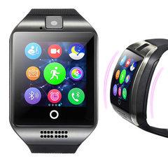 热销Q18智能手表 手机手表 定位手表触摸屏手表手机智表 厂家直销 多国黑色