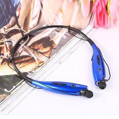 HBS-730 neck hanging bluetooth headset manufacturer wholesale bilateral stereo headphones wireless b black