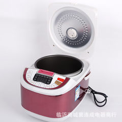 Multi-functional electric rice cooker household appointment time cooker smart rice cooker kitchen ap purple