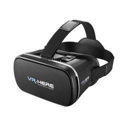 REMAX/ rexroth VR glasses 3D virtual reality storm mirror mobile phone helmet VR BOX wholesale fanta black