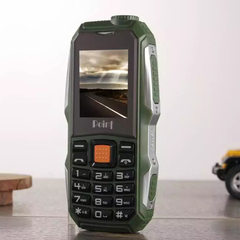 Authentic new three - defense mobile phone super - long standby elderly mobile phone dual - card dua green