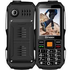 低价G1双卡军工三防路虎直板老人手机移动电霸充电宝老人机 黑色