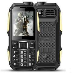 Daren D05 special price military power small three defense mobile phone super long standby old peopl black