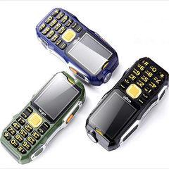 新款直板VOGO沃哥手机 双卡充电宝大电池电霸军工三防老人手机 黑色