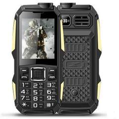 D05 special price military power ba small three - defense mobile phone super - long standby old peop black