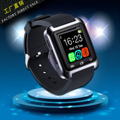 U8 bluetooth smartwatch adult sport custom gift smartwatch manufacturers wholesale direct selling white