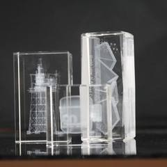 浦江厂家批发K9水晶3D内雕  可定制各种图案  水晶工艺品摆件 k9