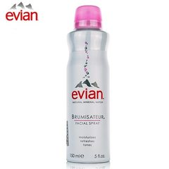Evian natural mineral water genuine France imported spray water moisturizing makeup 300ml