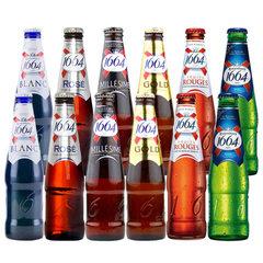 French original imported bottled female fruit-flavored beer wholesale France 1664 taste more than 33 250ml1 bottle of white beer 1664 (24 cases per case) 5& Deg.
