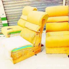 Custom-made lounge chair cover sofa refurbished genuine leather leather sand issued white