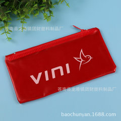 Children`s cartoon advertising pen bag transparent PVC pen bag professional custom student pen bag p 10 * 20