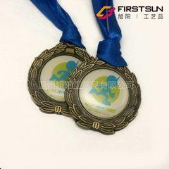 儿童奖牌运动章复古工艺品金属纪念品欢迎定制采购3025 50X50mm
