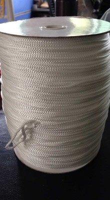 肥皂泡泡绳 香皂泡泡绳线 创意手工皂起泡网绳子 白色三股涤纶绳 白色 2mm