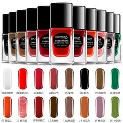 The charming and colorful nail polish color is gorgeous and the color is even NO.1 bottom oil