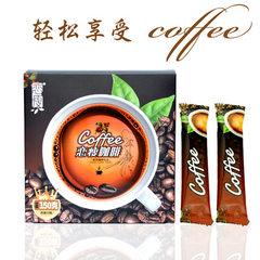 恋瘦速溶咖啡厂家直销 批发酵素黑咖啡粉 食品饮料冲剂正品保证 10g*15包