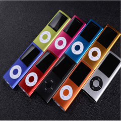 Foreign trade hot four generations MP4 video player 1.8-inch mini walkman MP4 portable plug-in MP3 There is no memory