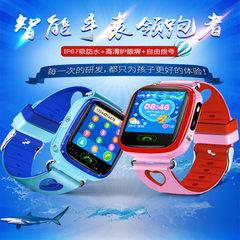 Y59儿童智能电话手表儿童智能手表手机防水彩屏触摸礼品工厂直销 粉色