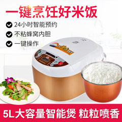 Factory direct sale small overlord multifunctional 5L rice cooker appointment time intelligent rice  Gift set [guaranteed for 2 years]