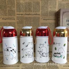 Creative 1314 series ceramic covered thermos cup customized couple thermos cup advertising gift cust 300 ml