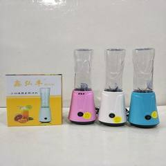 The factory directly provides multi-functional two-in-one household juicer gift meat processor wugu  green A 10 sets