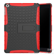 The new apple ipad 9.7-inch 2017 2018 creative support tablet cover ipad5 anti-fall case red New to the 2017