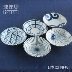 Pozzo sees Japan`s imported porcelain tableware glazed under the color blue painted dye paid soup pl 31986
