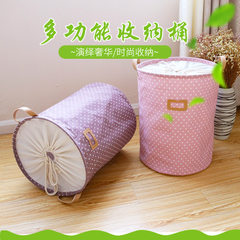 Factory direct sale zakka Japan and Korea version of cotton and linen waterproof bundle mouth receiv red