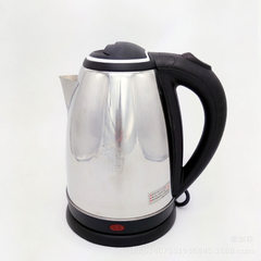 Manufacturer direct selling 2.0L red triangle stainless steel electric kettle electric kettle electr