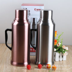 European-style household coffee pot cold water bottle stainless steel insulated kettle double vacuum Color random