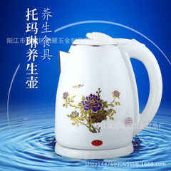 Tomalin color water bottle health kettle electric kettle double - layer anti - hot nutrition kettle