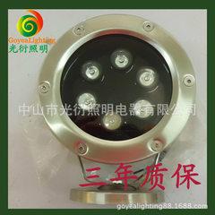 中山厂家直销 LED水底灯 LED水下灯 泳池灯6W9W12W 6