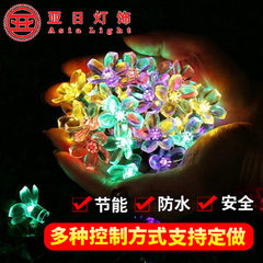 PVC wire outdoor waterproof (beer type) Christmas decorative LED lamp string 8