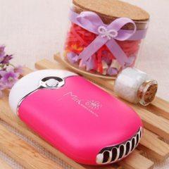 Eyelash fan usb mini air conditioning fan charging non-leaf fan grafted eyelash dryer pink